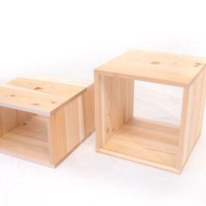 もくわく シンプル 収納家具